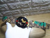 cintos para mulheres tamanho grande venda por atacado-NOVO assinado conjuntamente sup fivela Designer de cinto de luxo homens e mulheres Grande Fivela GRANDE faixa de tamanho cinto masculino marca para o presente