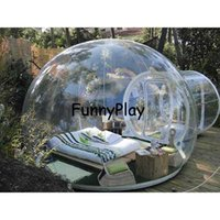 Wholesale Show Tents - inflatable bubble tree tent,inflatable show house Famaily Backyard Camping Tents,0.45mm pvc carpas de camping 4 personas room