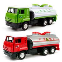Wholesale Cars School Bus - 1:36 Q styles mini vintage school bus car sound&light pull back car Model Toys brinquedos For Kids Birthday Gift