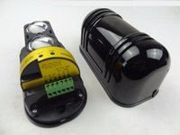 detectores de rayos infrarrojos al por mayor-100m Sensor de sistema de alarma de seguridad infrarrojo 2 Detector de radiación de haz Detector de radiación infrarroja de intrusión impermeable al agua al aire libre
