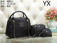 Wholesale mother son sets - LANYIBAIGE Fashion Women bags Two sets Mother And Son Package 2018 New High Capacity Lady Handbag Lady Shoulder Messenger Bag 80013