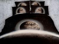 Chambre à Coucher Moderne Set 4 / 6pcs Terre Planète Décor Housse De  Couette Ensemble Double Queen Super King Size Ensembles De Literie