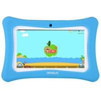 pulgadas de tableta andriod al por mayor-Tablet para niños Tablet PC de 7 pulgadas Andriod 7.1 con 1GB RAM 8GB ROM y WiFi Bluetooth Software para niños preinstalado