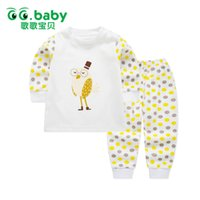 Wholesale baby boys owl clothes - Winter Dot Print Owl Newborn Infant Baby Clothes Set Girls Long Sleeve Cotton Baby Set Clothing Newborn Suits Fashion Outfits