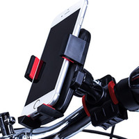 Wholesale universal smartphone holder for sale – best Universal Bike Phone Mount Bicycle Handlebar Cradle Clamp Rotation Stable Motorcycle Holder for iPhone Samsung LG Huawei smartphone