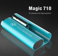 ingrosso batterie-Vapmod Magic 710 Vaping Mod 380mAh Batteria di preriscaldamento Mod 510 Thread Vaping automatico Vapor enorme