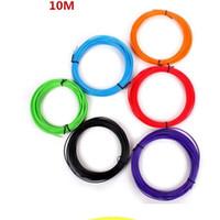 satılık 3d yazıcılar toptan satış-Sıcak satış PLA Filament 1.75mm 20 farklı renkler 10 metre her renk tüm 3D Kalem Filament 3D Yazıcı SGS Onay Malzemesi