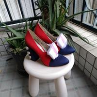 rom-stil high heel großhandel-Die neuen europäischen Luxusschuhe Rom-Schuhe in Mailand hoben dekorative Nieten mit Laufsteg und Laufsteg durch die Ledernähte