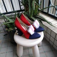 Wholesale rough leather shoes - The new European style luxury shoes Rome shoes in Milan raised catwalk runway decorative rivets high-heeled rough with the leather stitching