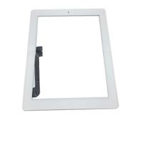 ingrosso pulsante domestico digitatore ipad aria-20Pcs per iPad Mini 1 2 3 per iPad 2 3 4 per iPad Air Touch Screen Digitizer Assembly Sostituzioni con tasto Home colore bianco