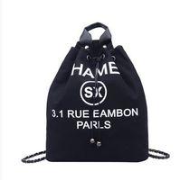 lona mochila mala escola ombros venda por atacado-Designer de Mochilas Famosa Marca Mulheres Mochila de Luxo de Alta Qualidade Mochila de Lona Moda Feminina Bolsas Escola Bolsa de Ombro
