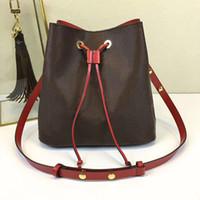 Wholesale new Drawstring for women leather fashion shoulder bag classic Tote for lady handbags presbyopic shopping bag purse messenger bag