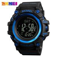 militär uhr gesicht großhandel-Große Gesichts-Sport-Uhr für Männer Wasserdichte Band-Armbanduhr für Männer 4 Arten Digital-Militärarmee-Uhr-Uhr-hohe Qualität Multifunktions