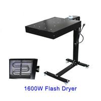 Wholesale T Shirts Screen Printing Machine - 1600W Screen Printing Flash Dryer Curing Unit Machine Inks T-shirt Print