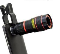 teleskop mobil für iphone großhandel-Universal 12x 70 Zoom optische Linse Handy Teleskop Kameraobjektiv für Samsung s6 s7 Hinweis 4 5 iphone 6 s plus Huawei LG