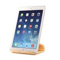 ingrosso nexus compresse-Supporto da tavolo universale bilaterale in legno per iPad / iPad Mini / Samsung Galaxy Tab / Google Nexus Most Tablets QJY99