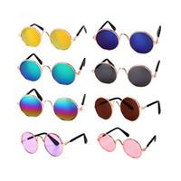 dog sunglasses оптовых-Hoomall 1шт собака кошка Pet очки на глаза любимчика-одежды собаки любимчика солнцезащитные очки Фото реквизит аксессуары кошка очки