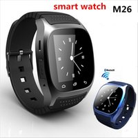 Wholesale Daily Watch - 2016 Hot M26 Smart Watch For Sport Perfect Compatible With Android System Bluetooth 3.0 All Connectable With BT3.0 Plus daily