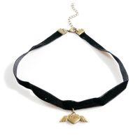 готический комплект колье оптовых- Necklace Women Fashion Choker Necklace Set Stretch Velvet Classic Gothic Tattoo Lace Choker