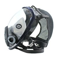 противогазы для лица оптовых-New Lightweight Full Face  mask Anti-Gas Mask Acid Dust Respirator Paint Pesticide Spray Silicone Filter bike Face