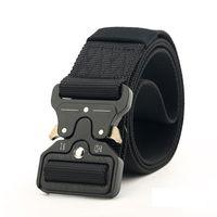 Wholesale braided belt women for sale - Group buy New cm Cobra Buckle Tactical Belt High Quality Nylon cm Casual Braided Belt Men Women Trainin H3E12