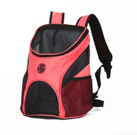 ingrosso zaini portano i cani-HOOPET Pet Carrier Fashion Traspirante Trasportare Cat Dog Puppy Comfort Viaggi Outdoor Shoulder Backpack zaini di lusso portatile di alta qualità