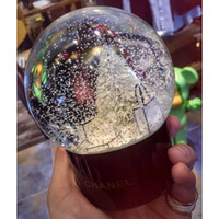 Wholesale collectible antique glass - Crystal Ball Glass Globe Arts Home Decoration Christmas Snowflake Ball Children XMAS Gifts HH7-961