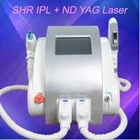 Wholesale hair skin beauty for sale - Group buy OPT SHR Laser Beauty Equipment IPL Elight Hair Removal Acne Treatment ND YAG Laser Tattoo Removal ipl Beauty Machine