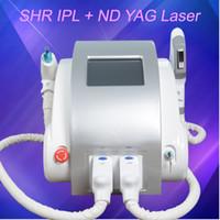 tratamento de remoção de acne venda por atacado-OPTAR o tratamento da acne da remoção do cabelo do IPL Elight do equipamento da beleza do laser de SHR Tratamento da acne do ipl da remoção da tatuagem do laser do ND YAG do laser de SHR