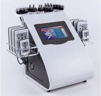 cavitação de lipoaspiração ultra-sônica emagrecimento venda por atacado-Atacado 40 k máquina de cavitação ultra-sônica lipoLaser Máquina de vácuo RF ultra-sônica lipoaspiração cavitação máquina de emagrecimento para venda