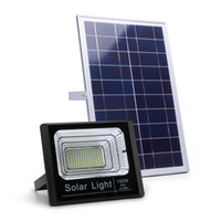 Wholesale e27 floodlights for sale - Group buy Solar Powered LED Flood Lights W W W W Remote Control Waterproof Solar Security Floodlight Fixture for Outdoor Wall Garden Yard