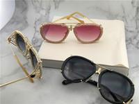 Wholesale eyewear aviator - Classic style leather aviator design frame Top quality ladies noble outdoor glasses uv400 protection eyewear 1046