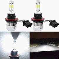 H7 LED 7600LM 72W 6000K Kaltweiß Paar Lampe Auto Motorrad Cob C6 12V 24V