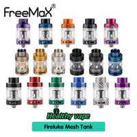 Wholesale steel carbon online - Freemax Fireluke Mesh Tank Atomizer ml Carbon Fire Resin Stainless Steel Types With Mesh Coil Top Refill Adjustable Original
