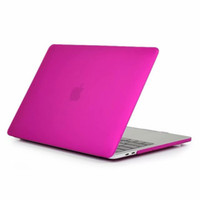 Wholesale new macbook laptop for sale - Matte Transparent Case For Apple Macbook New Pro A1706 A1708 A1989 Cover Hard Cases Shockproof Anti Scratch Laptop Cases