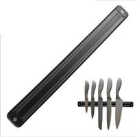 Wholesale mount knife online - High Quality Magnetic Knife Holder cm Wall Mount Black ABS Placstic Block Magnet Knife Holder For Stainless Steel Knife lt poor tracking