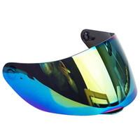 Wholesale black visor for motorcycle helmet resale online - 1 Pieces Glass for AGV K3 SV K5 Motorcycle helmet anti scratch replacement full face shield visor not for agv k3 k4 helmets