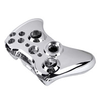 Wholesale Xbox Buttons - Wireless Controller Case Shell Cover Button Case for XBOX 360 Chrome Silvery L3EF