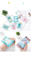 Wholesale tongs summer for sale - Group buy Summer Recycle Ice Bag Travel Portable Outdoors Cool Pack Cartoon Cold Bags Unicorn Flamingo pineapple pineapple zu KK