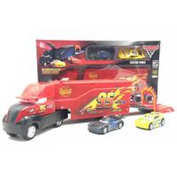 Wholesale kids educational metals resale online - Diecast Cars Cruz Ramirez Mack Containertruck Metal Alloy Plastic Modle Car Toys Child Kid Gift Jackson Storm hd V