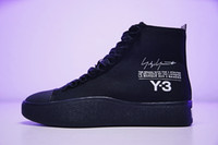 Wholesale Y3 Boots - Free Shipping With Original Box 2018 Y-3 Bashyo Trainer Boots Y3 Men Women Running Shoes Fashion Canvas Sneakers