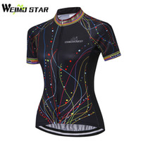 2017 WEIMOSTAR New Womens Ropa Ciclismo Girls Cycling Jersey Bike Bicycle  Shirt Outdoor Sports Short Sleeve Cycling Clothing Top caad7c250