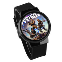 Wholesale back electronics for sale - Fortnite Game LED Wrist Watch Children The Fortress Night Noctilucan Touch Originality Electronics Student Watches High Grade qy Ww