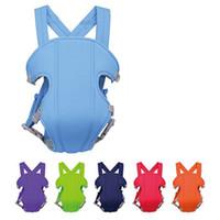 couleur porte-bébé achat en gros de-Confort Baby Carriers Infant Sling Multi Couleur Taille Réglable Multifonctionnel Toddler Sacs À Dos Chaud Vendre 13 5xm C R