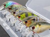 Wholesale float bait for sale - wLure Lures per Pack cm g Square Bill Meter Depth Wild Wobble Slow Floating RealLife Crankbait Fishing Lure HC15KB