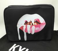 Wholesale kylie christmas lip edition for sale - Kylie Jenner Make Up Bag Holiday Edition Makeup Bag Kylie Lip Kit Cosmetics Bag High Quality For Christmas Gift