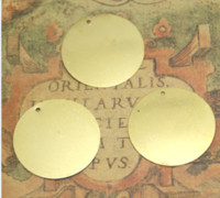 Wholesale stamp blanks resale online - 10pcs stamping blank copper round dics mm