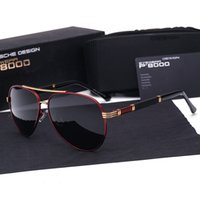 защищать диск оптовых-Бренд поляризованных солнцезащитных очков мужчины новая мода глаза защиты солнцезащитные очки с аксессуарами унисекс вождения очки oculos де соль с чехлами и коробки