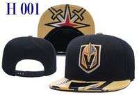Wholesale golden knit - 2018 Newest Ice Hockey Cap Men Women Blues Flyers Snapbacks Hats Knitted Vegas Golden Knights Snapback Caps Drop Shipping