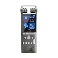 ingrosso micro recorder vocale gratuito-Savetek Professional Voice Registratore vocale digitale attivo 8 GB Penna USB Non-Stop 60 ore Riproduzione PCM 1536Kbps Registrazione timer automatico